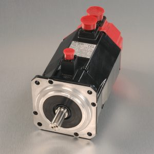 Fanuc new servo motor unit with silver background