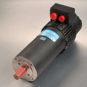 Gettys new M237 servo motor unit with silver background