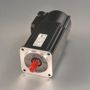 Indramat MKD like-new servo motor unit with silver background