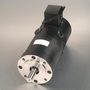 Kollmorgen TT new servo-motor unit with silver background