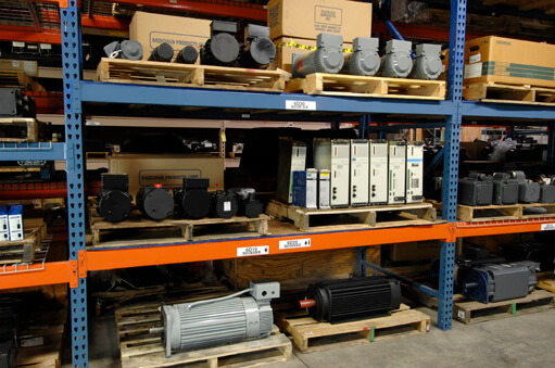 Surplus servo equipment