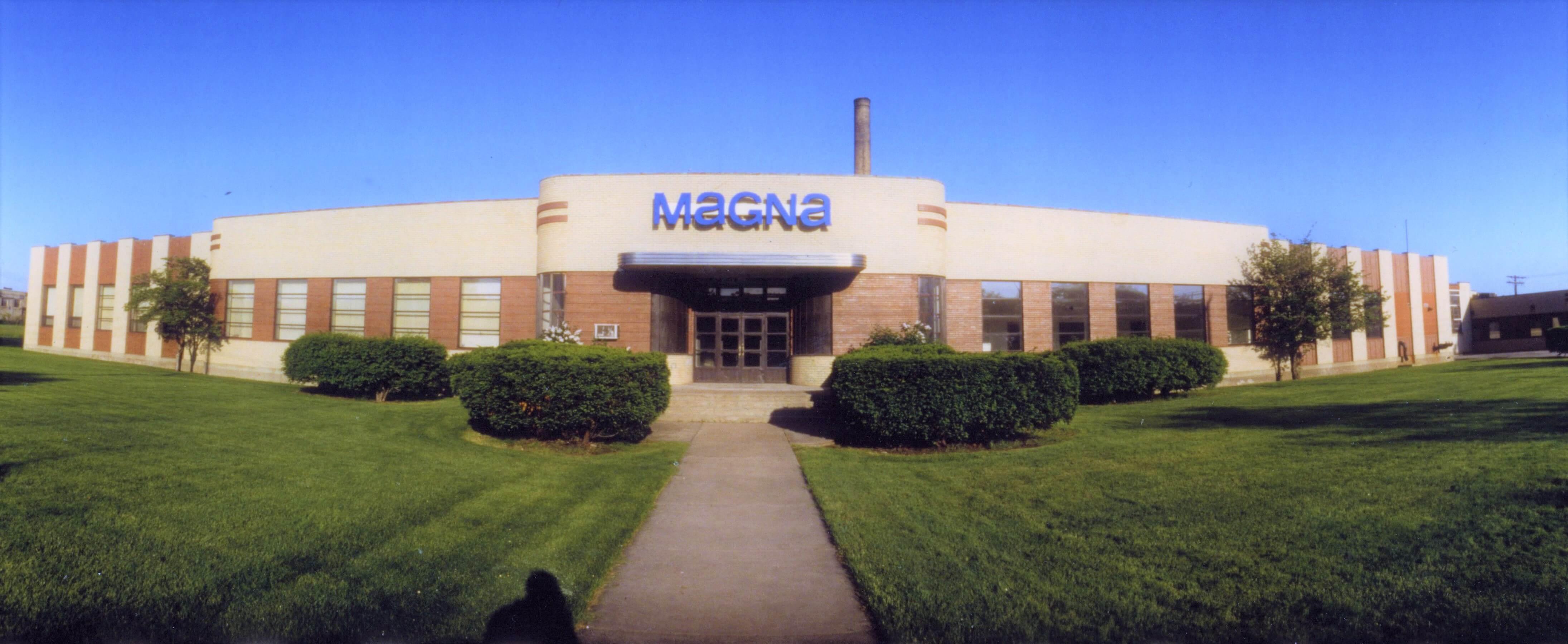 Magna's headquarters building